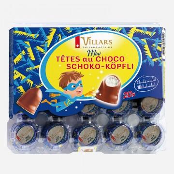 Mini Tête au Choco Lait, 200g