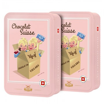 2x Boîtes chocolat Swiss...