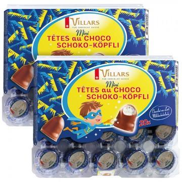2x Mini Tête au Choco Lait,...