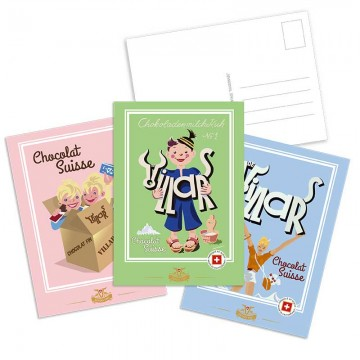 3 Cartes Postales Swiss...