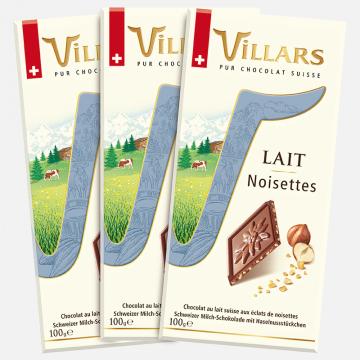 3x Tablettes de chocolat au...
