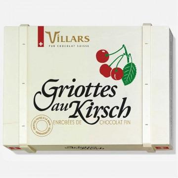 Holzkiste Griottes im Kirsch