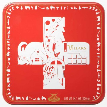 Boîte chocolat Swiss Game...