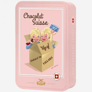 4 Mini Schokoladen...