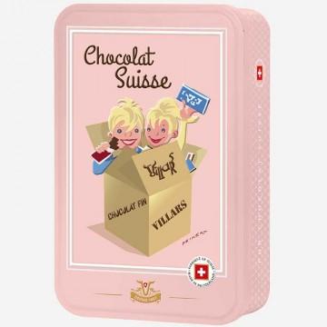Boîte chocolat Swiss...