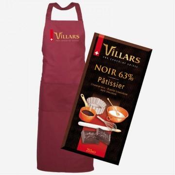 Rote Villars Schürze mit...