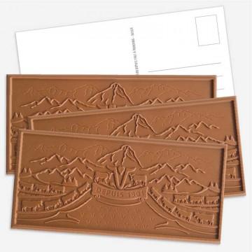 Postkarten Schokoladen...