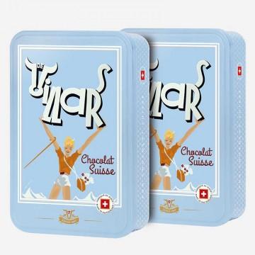 2x  Boîte chocolat Swiss...
